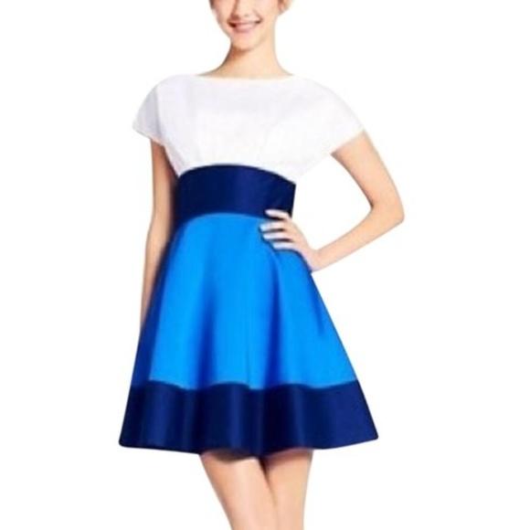 e7dcbdeda8 kate spade Dresses   Skirts - Kate Spade New York Dress Fiorella Blue White